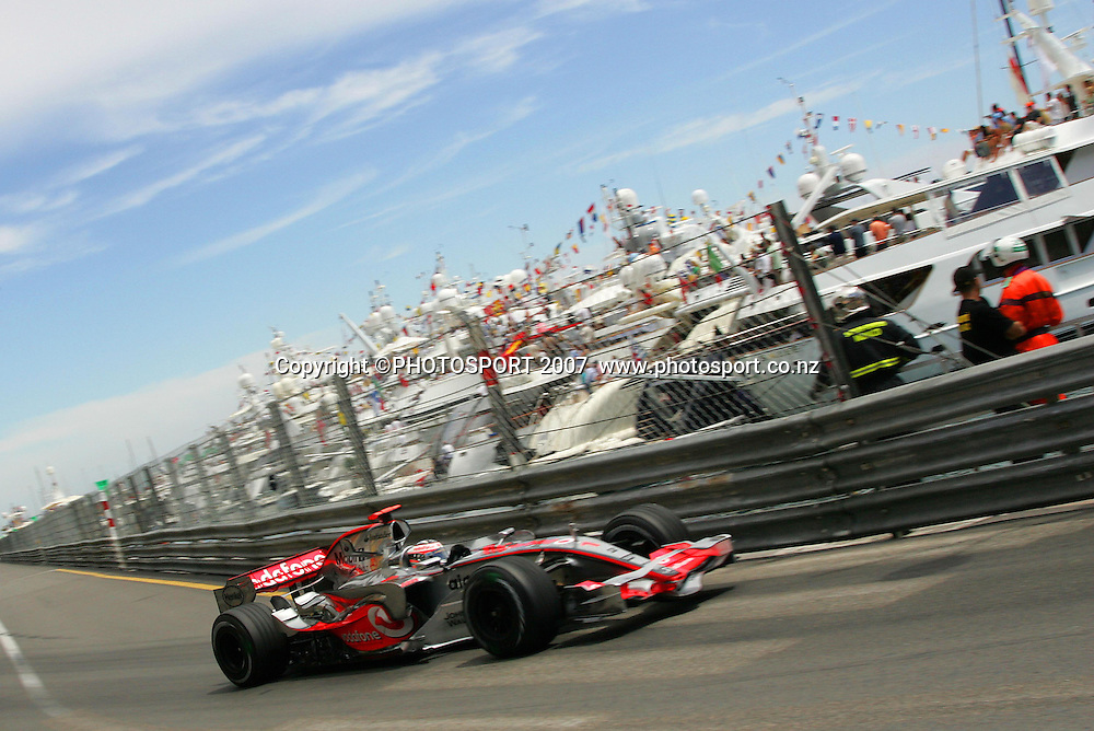 Fernando Alonso, McLaren-Mercedes <br /> Monaco F1 Grand Prix<br /> Monte Carlo<br /> Sunday 27 May 2007<br /> Photo: ATP/PHOTOSPORT