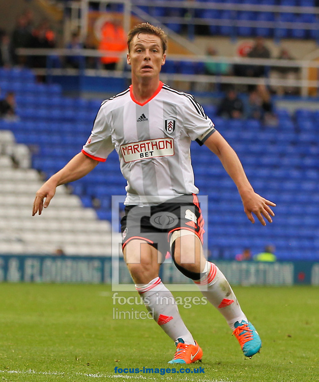 Scott Parker of Fulham during the Sky Bet Championship match at St Andrews, Birmingham<br /> Picture by Tom Smith/Focus Images Ltd 07545141164<br /> 27/09/2014