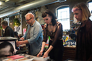 Iain McKell, , Cultural Traffic, C U L T U R A L  T R A F F I C<br /> A New Print Publishing Arts Fair  7-8th October 2016 ,  Ju Ju's, Truman Brewery, London,