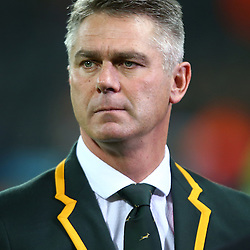 LONDON, ENGLAND - OCTOBER 30: Heyneke Meyer (Head Coach) of South Africa during the Rugby World Cup 3rd Place Playoff match between South Africa and Argentina at Olympic Stadium on October 30, 2015 in London, England. (Photo by Steve Haag/Gallo Images)