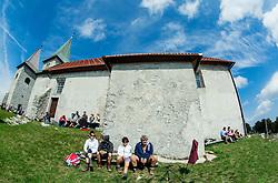 Planinski dom na Kumu - Naj planinska koca 2015, on September 13, 2015, Kum, Slovenia. Photo by Vid Ponikvar / Sportida