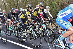 March 6, 2018 - Chatel Guyon, France - CHATEL-GUYON, FRANCE - MARCH 6 : MARTENS Paul  (GER)  of Team Lotto NL - Jumbo and GESINK Robert  (NED)  of Team Lotto NL - Jumbo in action during stage 3 of the 2018 Paris - Nice cycling race from Bourges to Chatel-Guyon (210km) on March 06, 2018 in Chatel-Guyon, France, 6/03/2018 (Credit Image: © Panoramic via ZUMA Press)