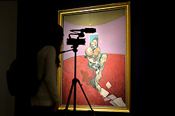 Pictured is 'Portrait of George Dyer Talking' by Franics Bacon which goes on sale at Christie's Auction House as part of the Post War and Contemporary Art sale season this February.<br /> Friday, 7th February 2014. Picture by Ben Stevens / i-Images