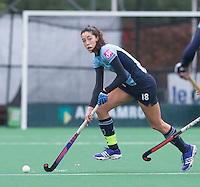 LAREN - Naomi van As van Laren  tijdens de hoofdklasse competitie hockey tussen de dames van Laren en Pinoke (2-0) . COPYRIGHT KOEN SUYK