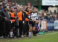 Photo: Rich Eaton.<br /> <br /> Leicester Tigers v Newcastle Falcons. Guinness Premiership. 27/01/2007. Jonny Wilkinson of Newcastle Falcons comes on as a substitute late in the first half