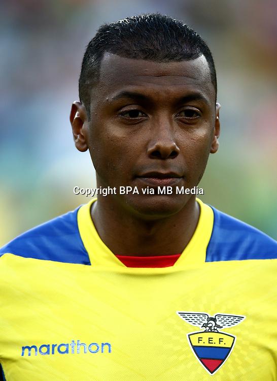 Conmebol_Concacaf - Copa America Centenario 2016 - <br /> Ecuador National Team - <br /> Oswaldo Minda