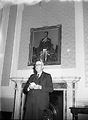 1958 - Painting of Robert Emmet presented to Seanad Eireann