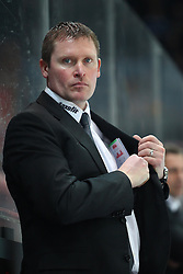 16.03.2011, Olympia Eisstadion, Muenchen, GER, DEL Pre-Playoff, EHC Muenchen vs Koelner Haie , im Bild  Niklas Sundblad (Trainer Haie) , EXPA Pictures © 2011, PhotoCredit: EXPA/ nph/  Straubmeier       ****** out of GER / SWE / CRO  / BEL ******