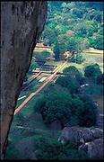 Sri Lanka. Sigiriya Rock.. UNESCO World Heritage Site.