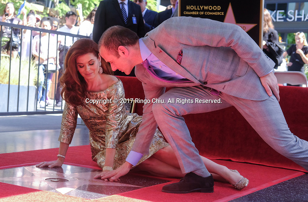 Executive producer Max Mutchnick at a ceremony honoring actress Debra Messing with a star on the Hollywood Walk of Fame on Friday, Oct. 5, 2017, in Los Angeles.(Photo by Ringo Chiu)<br /> <br /> Usage Notes: This content is intended for editorial use only. For other uses, additional clearances may be required.