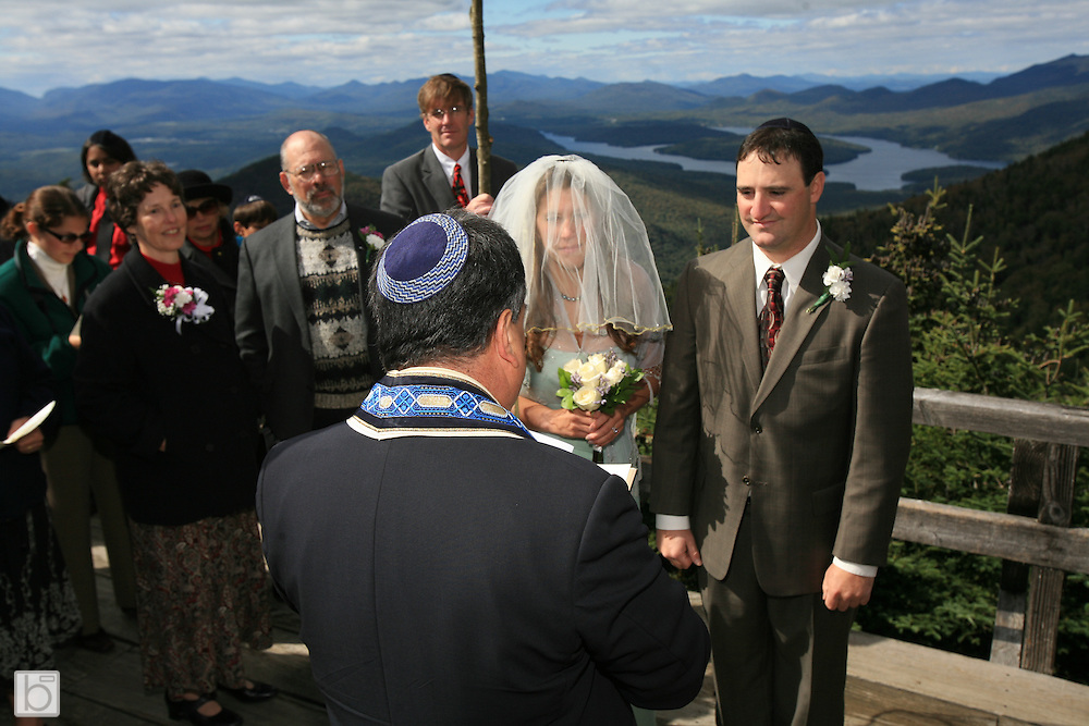 Andy Tieg and Jordanna Mallach wedding on little Whiteface and reception at Lisa G's