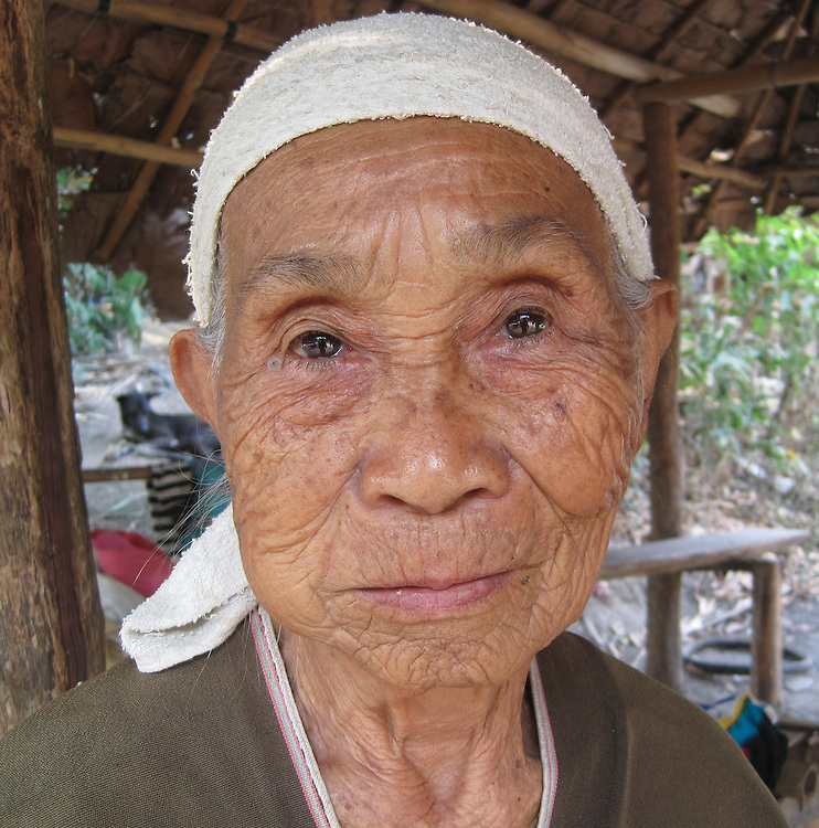 This is Mida's grandmother's friend, So Lue Pee, chewing tobacco. Mida enjoy's taking photographs of life in her village, especially of family and friends.