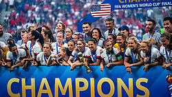 07-07-2019 FRA: Final USA - Netherlands, Lyon<br /> FIFA Women's World Cup France final match between United States of America and Netherlands at Parc Olympique Lyonnais. USA won 2-0 / Team USA