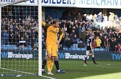 Glenn Murray of Brighton and Hove Albion takes time out - Mandatory by-line: Arron Gent/JMP - 17/03/2019 - FOOTBALL - The Den - London, England - Millwall v Brighton and Hove Albion - Emirates FA Cup Quarter Final