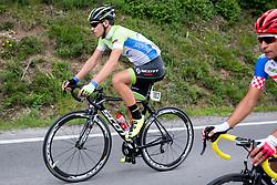 Logar Tadej of Slovenia during Stage 1 of 23rd Tour of Slovenia 2016 / Tour de Slovenie from Ljubljana to Koper/Capodistria (177,8 km) cycling race on June 16, 2016 in Slovenia. Photo by Vid Ponikvar / Sportida