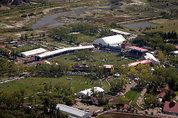 Helicopeter overview Spruce Meadows<br /> Suncor Energy Cup<br /> Spruce Meadows Masters - Calgary 2014<br /> © Dirk Caremans