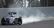 Barcelona, Spain - <br /> <br /> Valtteri Bottas and Williams during the test in the Barcelona-Catalunya Circuit, on february 23, 2016.<br /> ©Exclusivepix Media