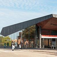 Aalto university metro station