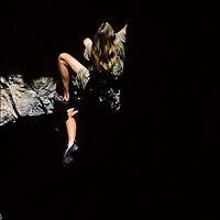 Matt Goreham climbing Jitterbug Boy, 5.12a, American Fork Canyon, Utah