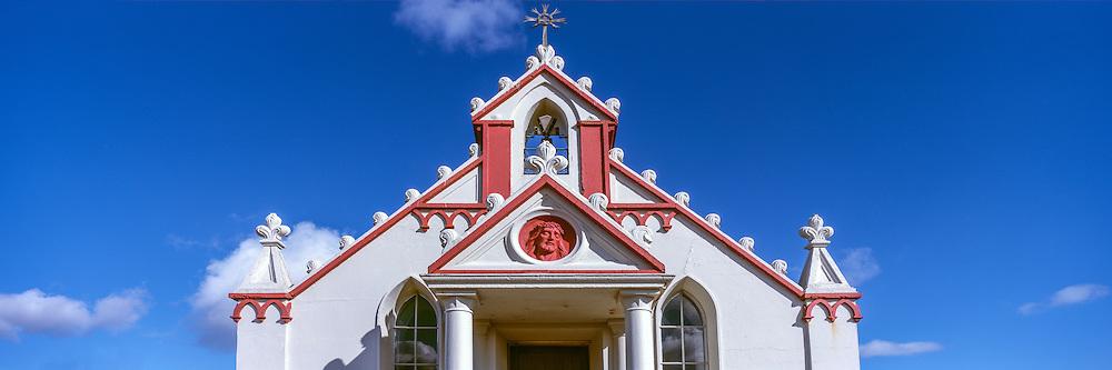 The Italian Chapel on Orkney - built by Italian POW's during WW2 on Lambholm