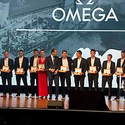 NLD/Scheveningen/20180630 - Koning bij Award Diner Volvo Ocean Race,  Dongfeng Race Team<br /> Volvo Ocean 65<br /> Volvo Ocean 65