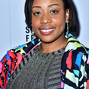 Shantelle Rochester attend TriForce Short Festival, on 30 November 2019, at BFI Southbank, London, UK.