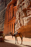Treasury,The Khazneh Petra Archaeological Site, Petra, Jordan, Middle East