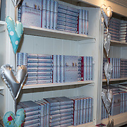 NLD/Amsterdam/20130506 -  Boekpresentatie 'De hartsvriendin' van Heleen van Royen, Interieur van haar winkel