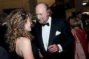 ANNA STOTHARD; ED VICTOR, The 2009 Booker Prize dinner. Guildhall. London. 6 October 2009