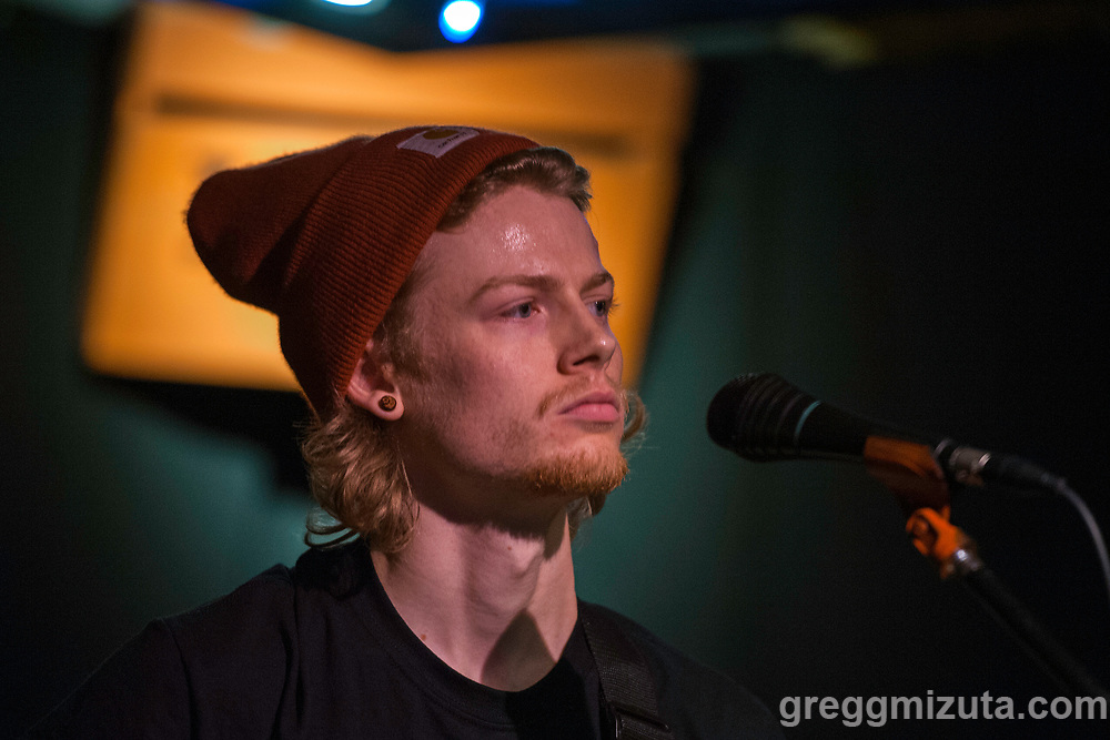 Illicit Nature Ethan Taylor at The Hootenanny Returns - Music for Felines Fest! at the Boise Hive on January 6, 2018 in Boise, Idaho. <br /> <br /> Members: Parker Brown (bass,vox), Cameron (drums), Ethan Taylor (guitar, vox). Hometown: Boise, Idaho.<br /> <br /> Line-up: Groggy Bikini, The Olivia DeHavilland Mosquitoes, Throat Honey, Illicit Nature, Chemical Drag, King and Queen of the Losers, Jordan Thornquest, Common Condition, Wildflower Drive, Town of Trees, Introspection, Dash30, and Corduroy Blue.