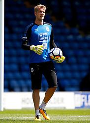 Jonas Lossl of Huddersfield Town warms up - Mandatory by-line: Matt McNulty/JMP - 16/07/2017 - FOOTBALL - Gigg Lane - Bury, England - Bury v Huddersfield Town - Pre-season friendly