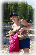 Gail and my daughter Jordan on one of our adventures in the great outdoors.