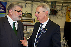 Opening of the Australian Synchrotron Imaging and Medical Beamline by Senator the Hon. Kim Carr, Minister for Innovation, Industry, Science and Research. With Prof. Andrew Peele and Dr Greg Storr.