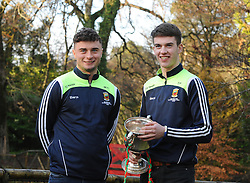 Members of Mayo&rsquo;s 2016 U21 All Ireland winning team Breaffy&rsquo;s Michael Hall and Aghamore&rsquo;s David Kenny.<br /> Pic Conor McKeown