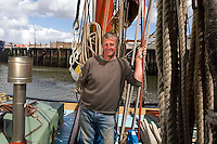Sea People Project - Steve Norris, Skipper and Owner of Thames Barge Greta