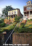 Pittsburgh, PA, Southside Steps to HIllside Houses