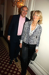 MICHAEL & SANDRA HOWARD at a party to celebrate the launch of The Business - London's First Global Business Magazine held at the Mandarin Oriental Hyde Park, 66 Knightsbridge, London on 11th October 2006.<br />