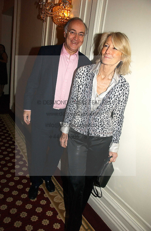 MICHAEL & SANDRA HOWARD at a party to celebrate the launch of The Business - London's First Global Business Magazine held at the Mandarin Oriental Hyde Park, 66 Knightsbridge, London on 11th October 2006.<br /><br />NON EXCLUSIVE - WORLD RIGHTS