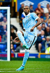 Fernandinho of Manchester City  - Mandatory byline: Matt McNulty/JMP - 07966386802 - 23/08/2015 - FOOTBALL - Goodison Park -Everton,England - Everton v Manchester City - Barclays Premier League