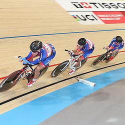 06-11-2016: Wielrennen: NK Teamsprint en Ploegenachtervolging : Apeldoorn  APELDOORN (NED) wielrennen  In het Omnisportcentrum in Apeldoorn werd gestreden om de nationale titels op de ploegenachtervolging en teamsprint. De jonkies van de Volharding onderweg naar de nationale titel op de ploegenachtervolging