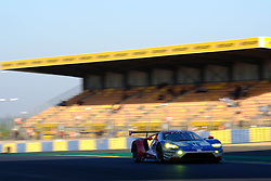 June 18, 2017 - Le Mans, Sarthe, France - Ford Chip Ganassi Team USA Michelin Ford GT.JOEY HAND (USA) in action during the race of the 24 hours of Le Mans on the Le Mans Circuit - France (Credit Image: © Pierre Stevenin via ZUMA Wire)