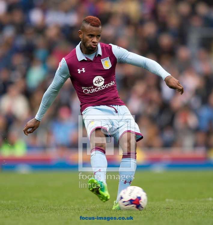 Leandro Bacuna of Aston Villa during the Sky Bet Championship match at Ewood Park, Blackburn<br /> Picture by Russell Hart/Focus Images Ltd 07791 688 420<br /> 29/04/2017