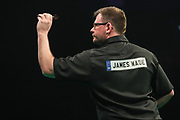 James Wade  during the PDC Premier League Darts at Arena Birmingham, Birmingham, United Kingdom on 25 April 2019.