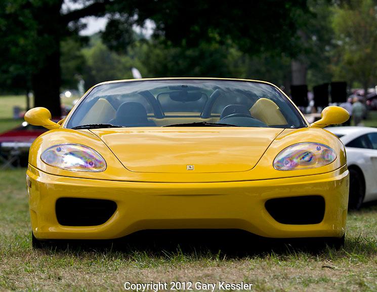 Ferrari 360,Keeneland Concours D'Elegance,Lexington,Ky