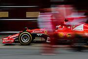 February 26-28, 2015: Formula 1 Pre-season testing Barcelona : Kimi Raikkonen (FIN), Ferrari pitstop