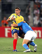 Marseille, FRANCE - 12th September 2007, Lonut Dimofte of Romania during the Rugby World Cup, pool C, match between Italy and Romania held at the Stade Velodrome in Marseille, France...Photo: Ron Gaunt/ Sportzpics