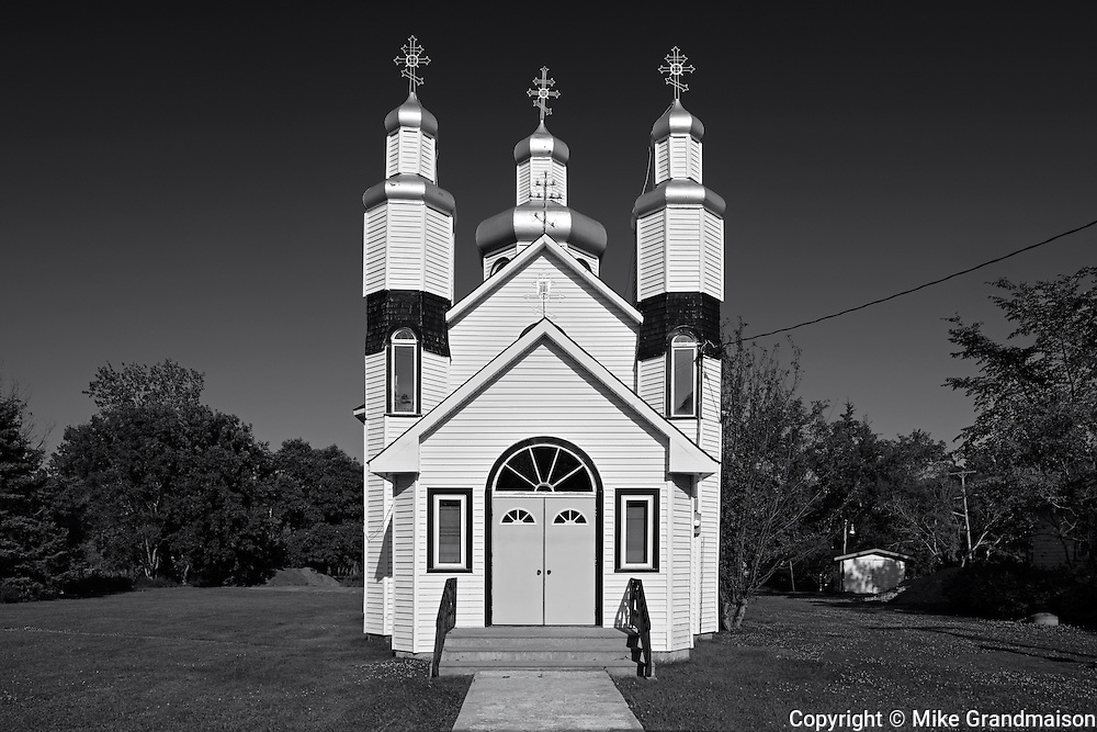Holy Trinity Ukrainian Orthodox Church<br /> Vita<br /> Manitoba<br /> Canada