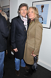 NIGEL HAVERS and his wife GEORGIANA at a private view of the late Patrick Lichfield: Nudes at The Little Black gallery, 13A Park Walk, London SW10 on 26th April 2012.
