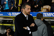Fulham First Team Head Coach Slavisa Jokanovic during the EFL Sky Bet Championship match between Burton Albion and Fulham at the Pirelli Stadium, Burton upon Trent, England on 1st February 2017. Photo by Richard Holmes.