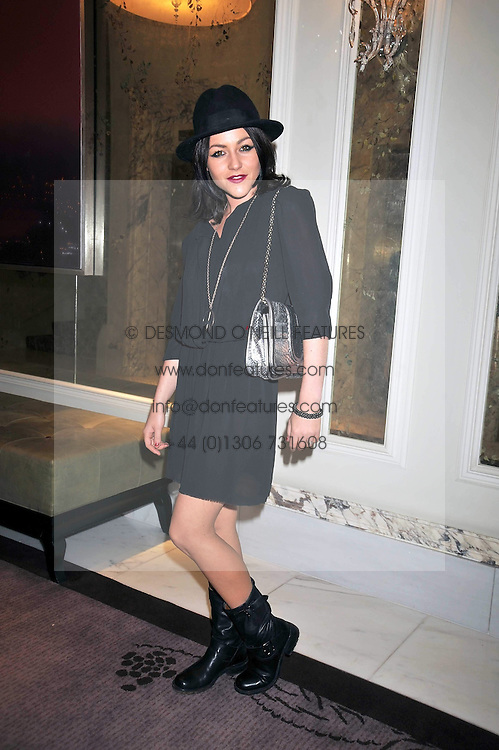 JAIME WINSTONE at a dinner hosted by designer Pauric Sweeney held in The Postilion Roon, The Langham, ondon on 23rd June 2009.